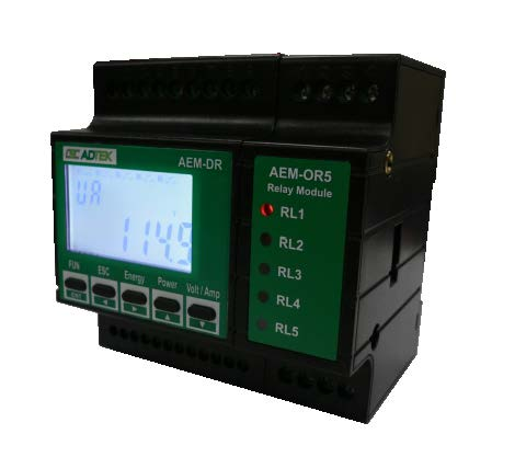 Đồng hồ ampe đa năng AEM-DR