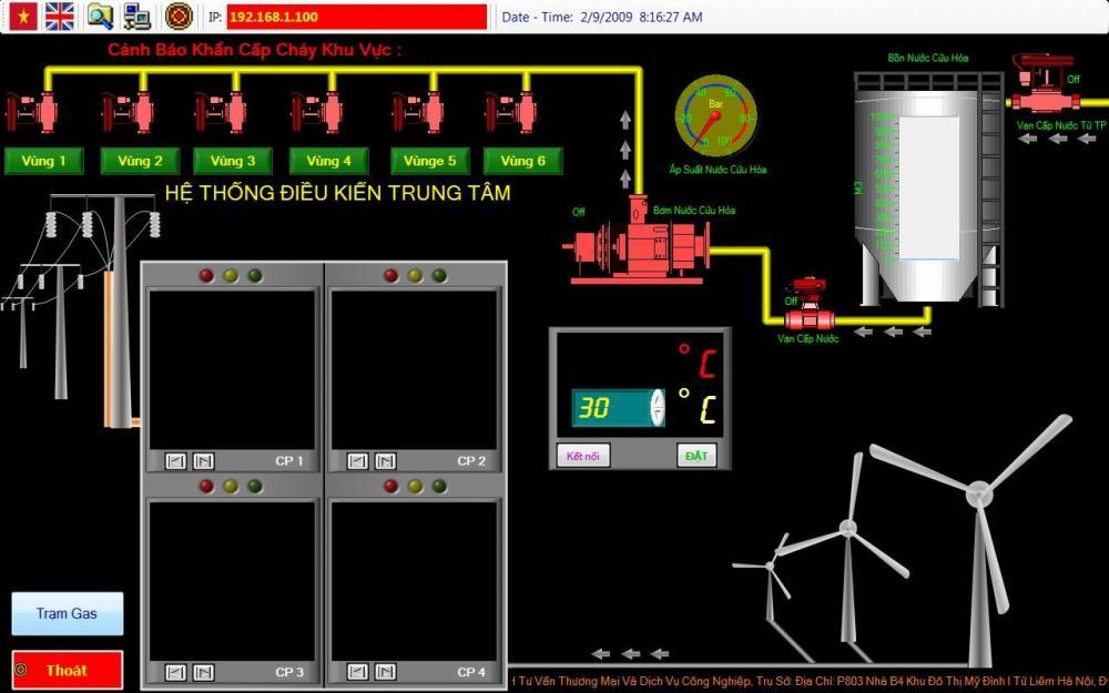 Hệ thống đo năng lượng gió & mặt trời