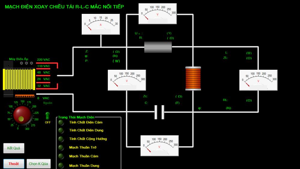 Hệ thống thực hành ngành điện, tự động hóa
